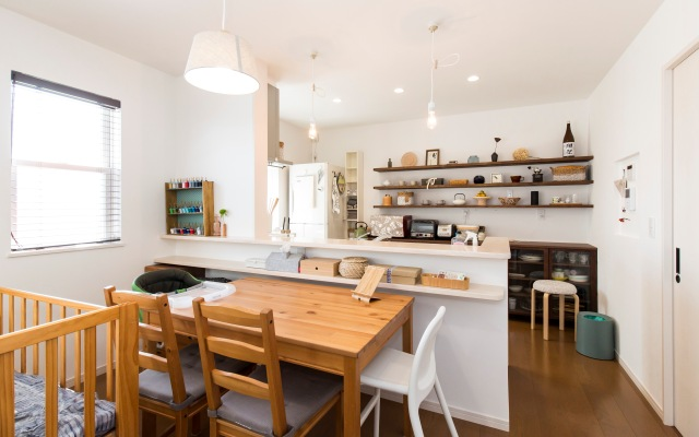 仕事と家庭を両立した併用住宅の画像