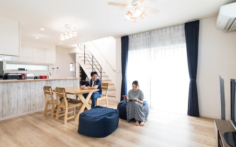 高さを意識した設計デザインの家 の画像1