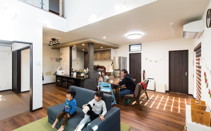 広い空間で遊べる家 の画像1