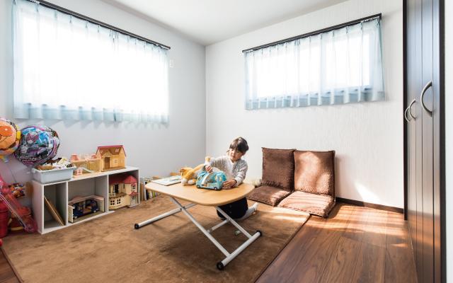 広い空間で遊べる家 の画像3