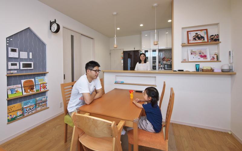 機能と暮らしやすさを備えた家 の画像1