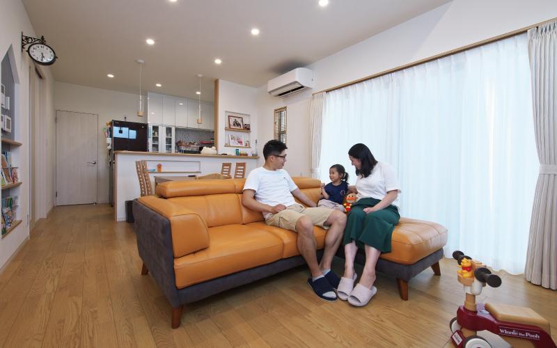 機能と暮らしやすさを備えた家 の画像8