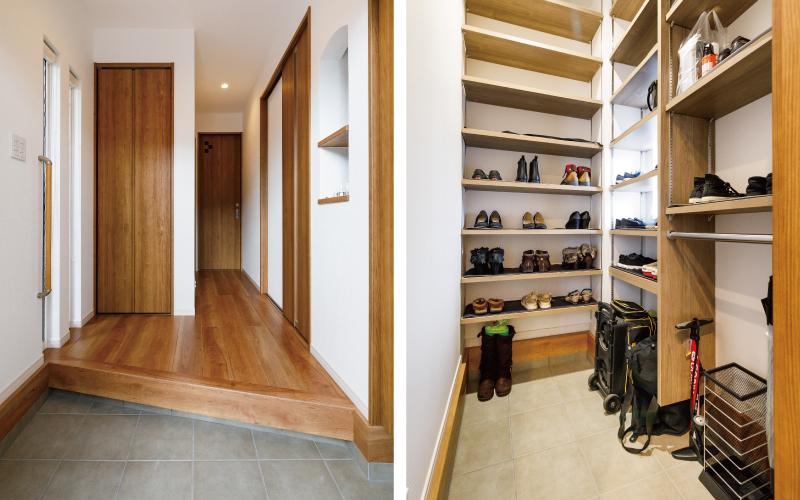 家事動線、収納、趣味の家 の画像2