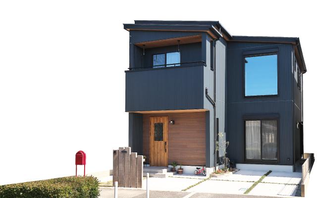 インダストリアルスタイルの家の画像