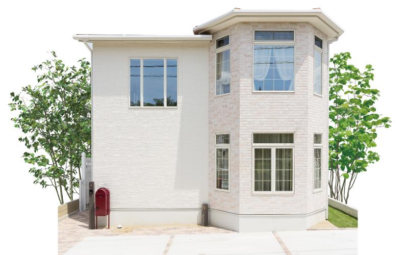 多角形のナチュラルフレンチの家 の画像15